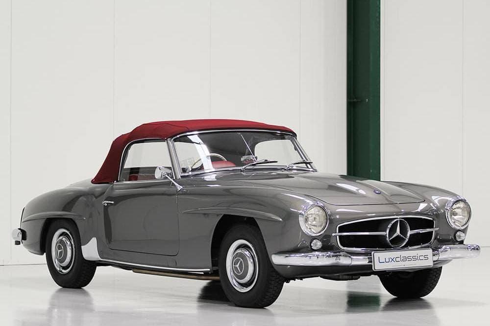 Lux Classics 1960 Marcedes Benz 190sl 4 Sm